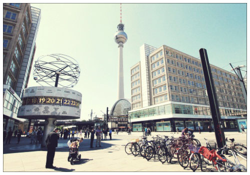 Площадь Alexanderplatz
