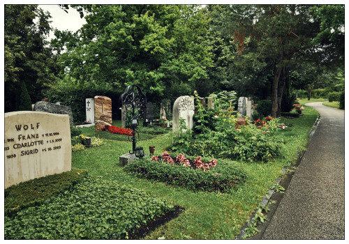 Гамбургское кладбище Ольсдорф