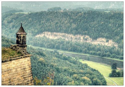 Крепость Königstein