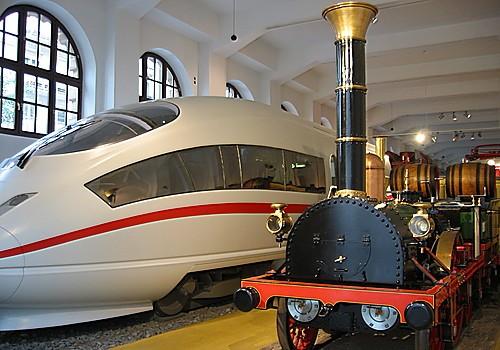 Музей транспорта в баварском Нюрнберге