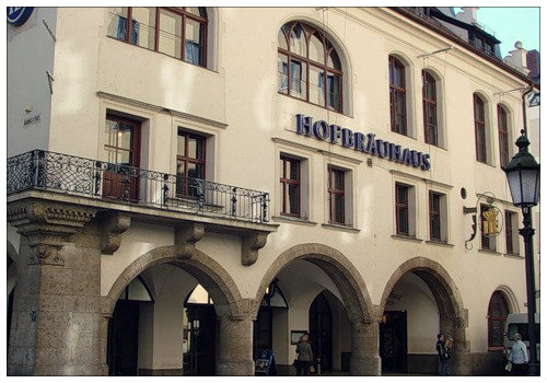 Пивоварня Hofbrauhaus