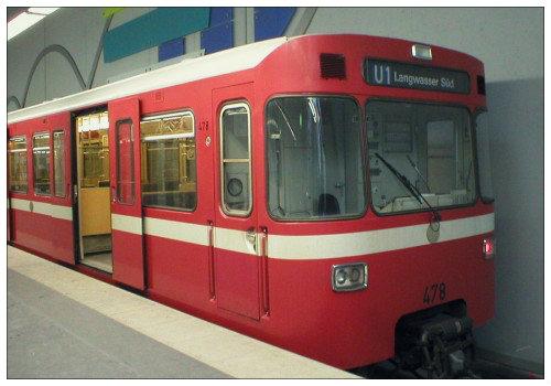 Вагоны Нюрнбергского метрополитена