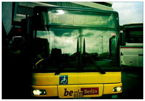 Автобус до Берлина.