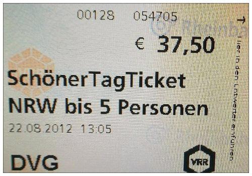 SchönerTagTicket NRW