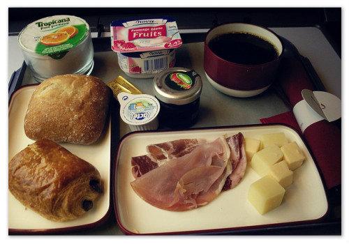 Завтрак в вагоне первого класса