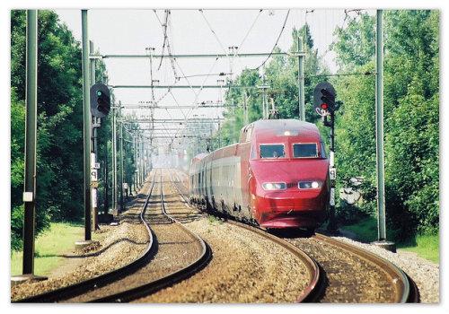 Поезда Thalys