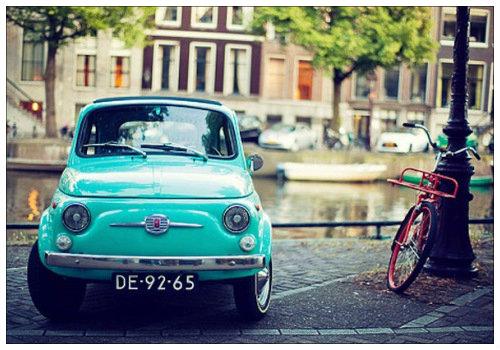 Автомобиль в Голландии