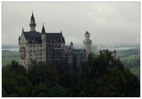 Вид на замок.