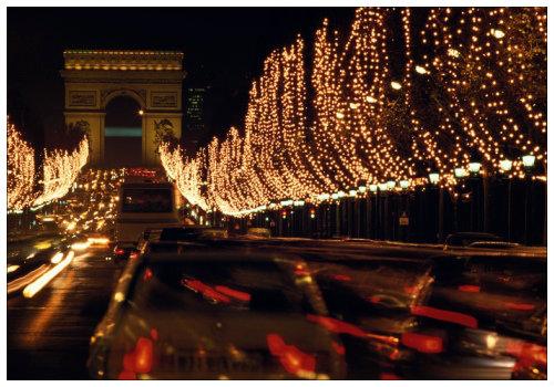 Новый год в Париже.