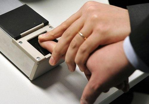 Отпечаток пальцев.