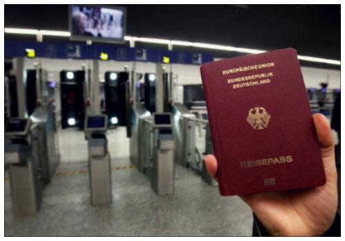 Немецкий паспорт.