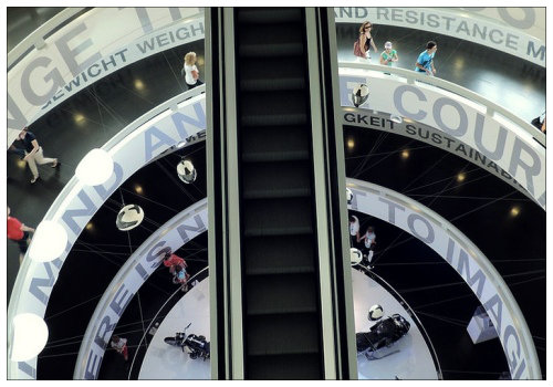 Эскалатор.