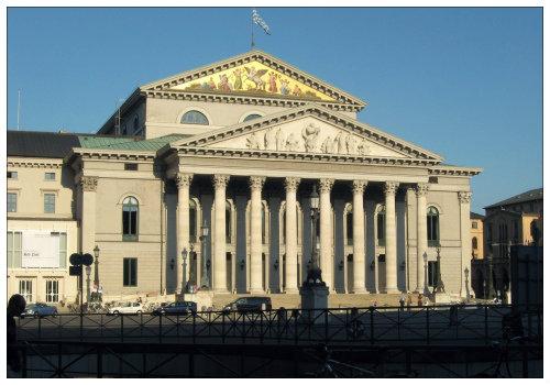 Оперный театр Мюнхена.