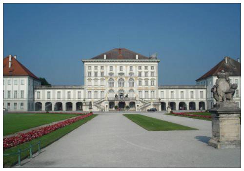 Нимфенбург дворец.