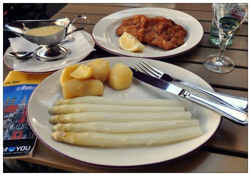 Обед в Германии.