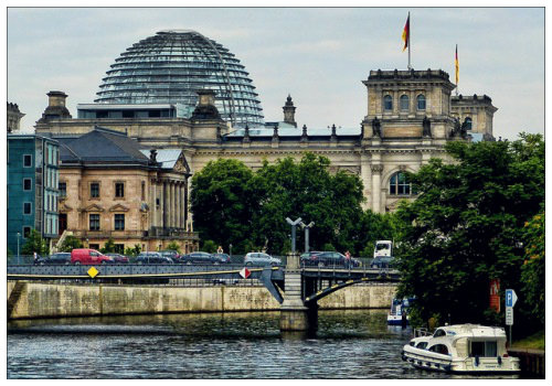 Река в Берлине.