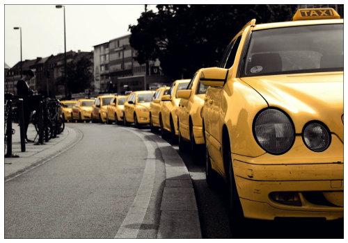 Ряд такси.
