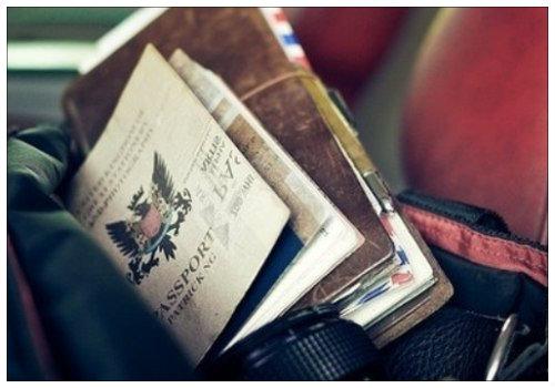 Вещи для путешествия.
