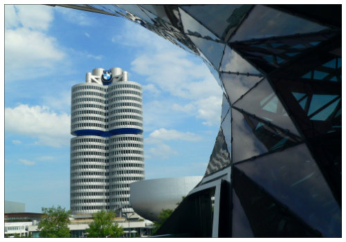 Здание музея BMW.