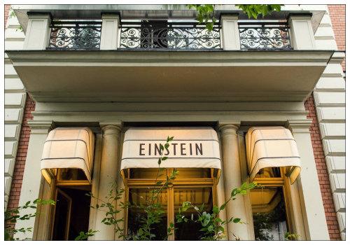 кафе «Эйнштейн».
