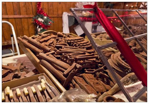 Рождественский магазин.