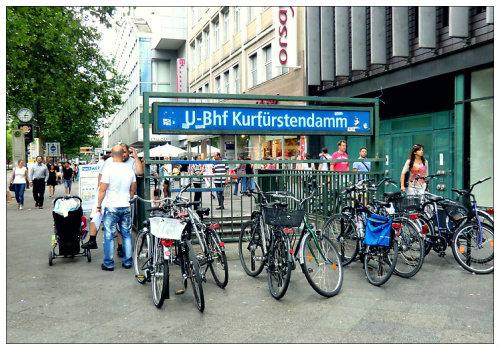 Станция метро Kurfürstendamm