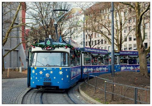 Праздничный трамвай.