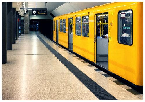 Желтый вагон.