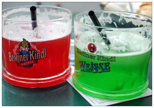 Напиток в бокалах