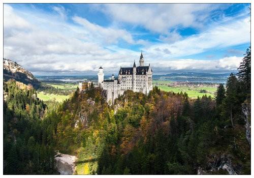 Замок в лесу