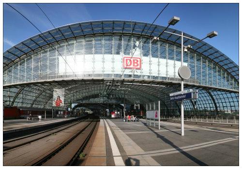 Вокзал Berlin Hauptbahnhof