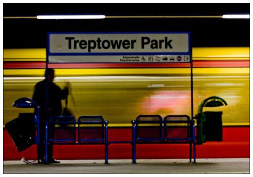 Станция Treptower Park