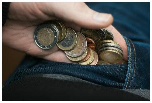 Монеты в кармане