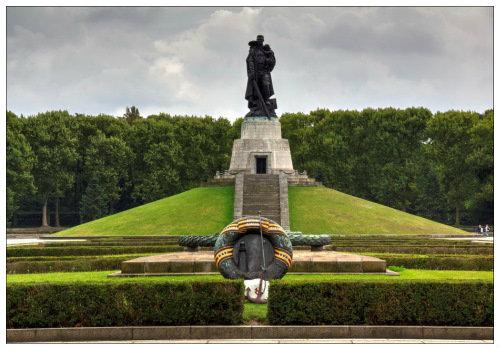 Мемориал в Трептов парке