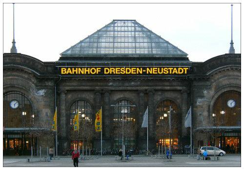 Вокзал Дрездена
