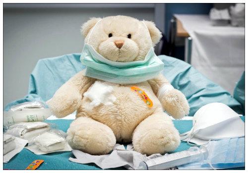 Больной медвежонок