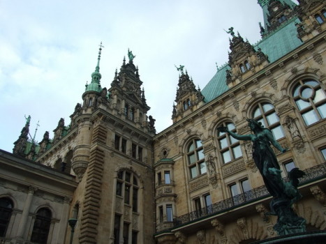 Архитектура Гамбурга.
