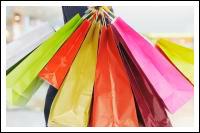 Пакеты с покупками.