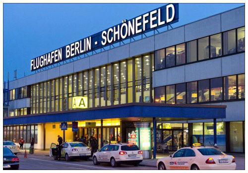 Аэропорт Берлина Шёнефельд.