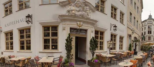 Кофейня в Лейпциге.