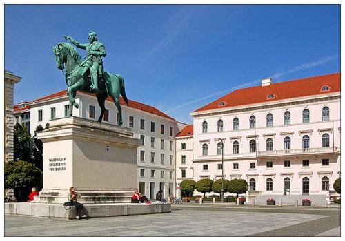 В Мюнхене мало туристов.
