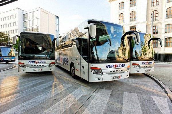 Цена билетов на автобус из Парижа в Берлин.