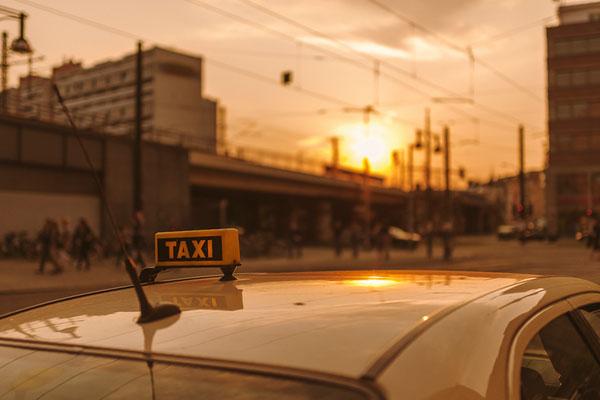 Поездка на такси.