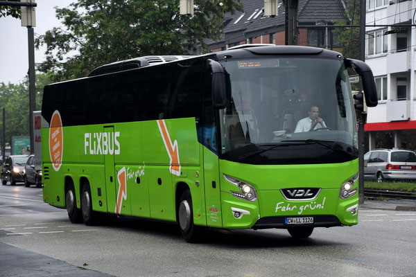 Пассажирские автобусные перевозки в Германии.