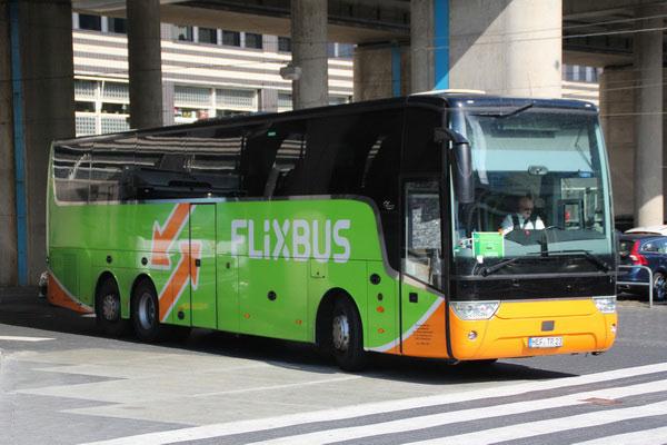Автобусы в Германии.