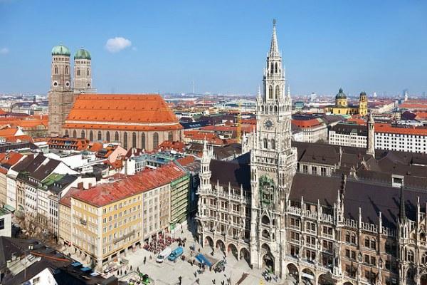 Осень 2020 в Мюнхене.