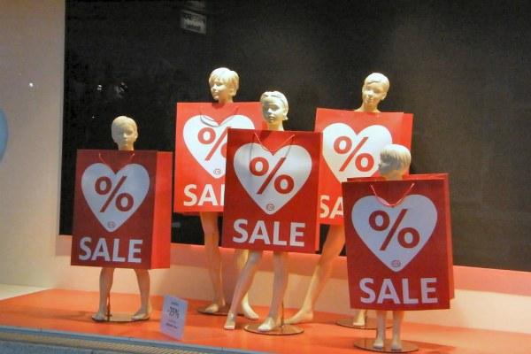 Скидки и распродажи.