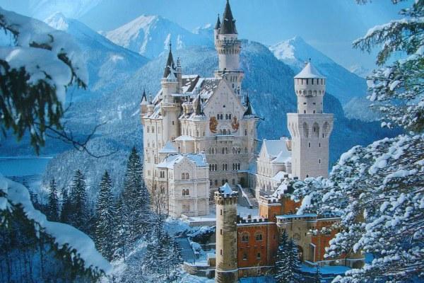Замки Баварии.