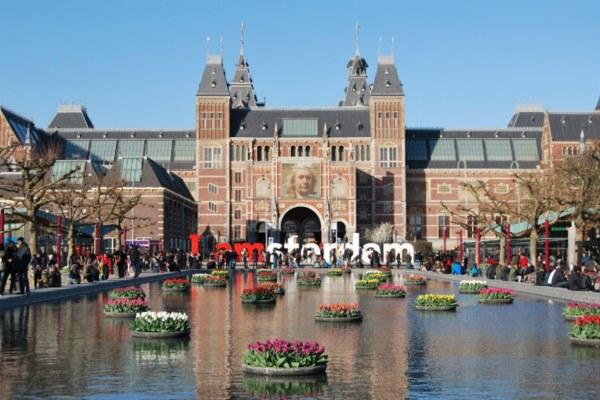 Поездка в Амстердам.